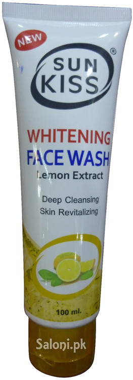 Sun Kiss Lemon Extract Whitening Face Wash Front