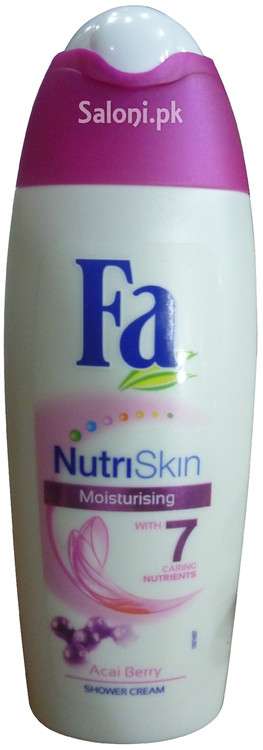 Fa Nutri Skin Moisturising Shower Cream with 7 Caring Nutrients Front