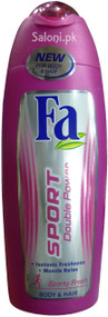 Fa Sport Double Power Shower Gel for Body & Hair Front