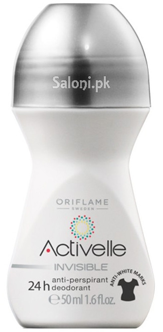 Oriflame Activelle Invisible Anti-Perspirant 24H Roll On Deodorant