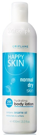 Oriflame Happy Skin Hydrating Body Lotion Normal Dry Skin