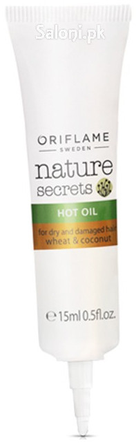 Oriflame Nature Secrets Hot Oil for Dry and Damaged Hair Wheat & Coconut