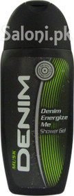 Denim Musk Energize Me Shower Gel (Front)