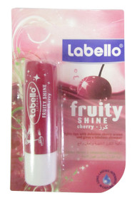 Nivea Labello Fruity Shine Cherry Lip Balm 4.8 Grams (Front)