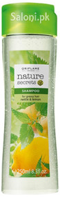 Oriflame Nature Secrets Shampoo for Greasy Hair Nettle & Lemon