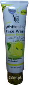 YC Whitening Face Wash With Lemon Extract Front