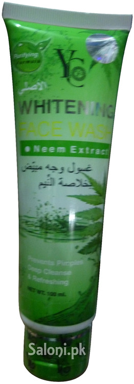 YC Whitening Face Wash with Neem Extracts Front