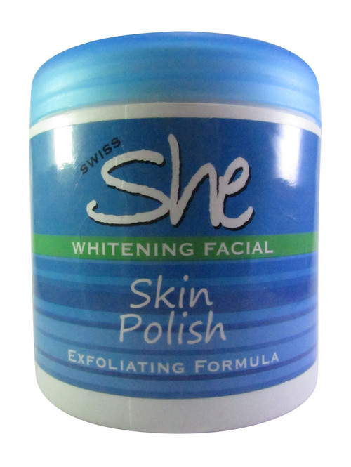 Swiss She Whitening Facial Skin Polish 500 Grams