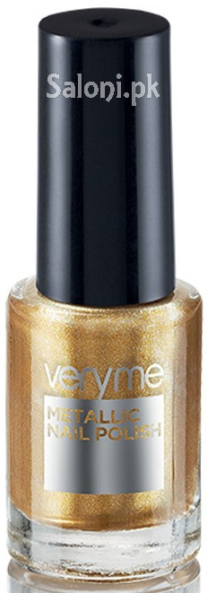 Oriflame Very Me Metallic Nail Polish Gold Rush