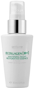 Oriflame Ecollagen [3D+] Whitening Night Restorative Essence