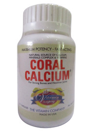The Vitamin Company Coral Calcium 20 Tablets