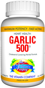 The Vitamin Company Garlic 500