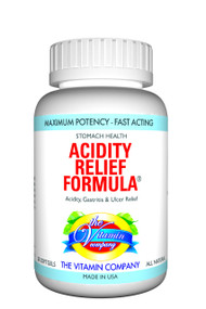 The Vitamin Company Acidity Relief Formula
