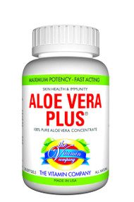 The Vitamin Company Aloe Vera Plus Front