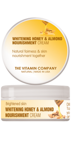 The Vitamin Company Whitening Honey & Almond Nourishment Cream
