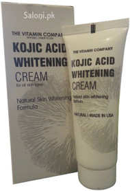 The Vitamin Company Kojic Acid Whitening Cream Front