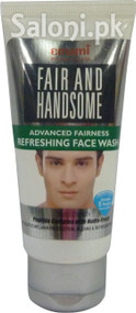 Emami Fair and Handsome Advanced Fairness Refreshing Face Wash (Front)