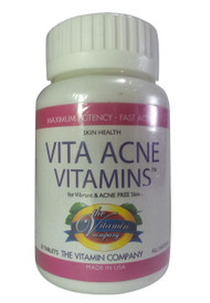 The Vitamin Company Vita Acne Vitamins Tablets (Front)