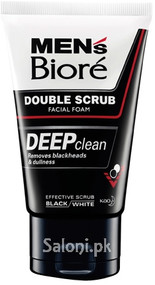 Men's Biore Double Scrub Deep Clean