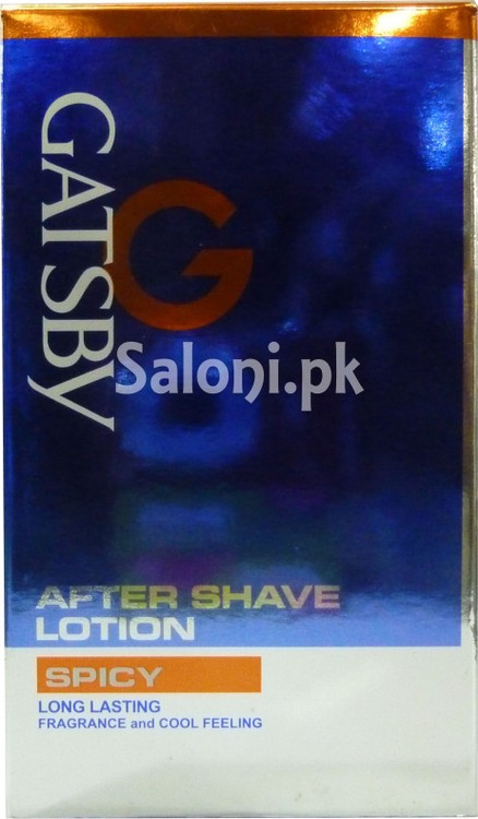 Gatsby After Shave Lotion Spicy (Front)