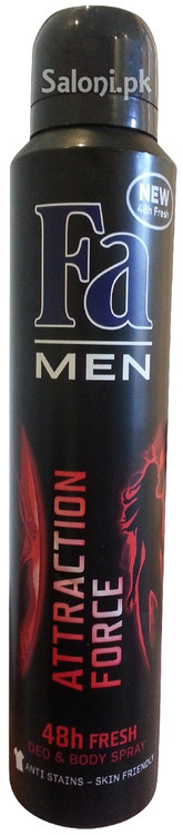 Fa Men Attraction Force 48h Fresh Deo & Body Spray Front