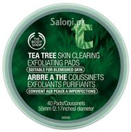 The Body Shop Tea Tree Skin Clearing Exfoliating Pads Front