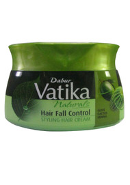 Dabur Vatika Naturals Hair Fall Control Styling Hair Cream 140 ML (Front)
