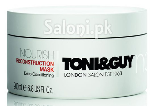 Toni & Guy Nourish Reconstruction Mask Jar