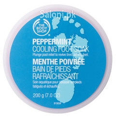The Body Shop Peppermint Cooling Foot Soak