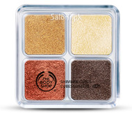 The Body Shop Shimmer Cube Palette - Bronze
