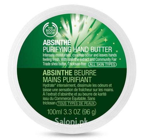 The Body Shop Absinthe Purifying Hand Butter