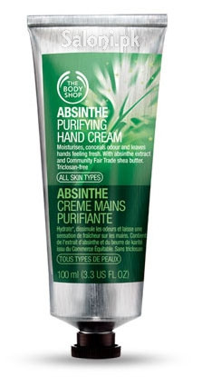 The Body Shop Absinthe Purifying Hand Cream