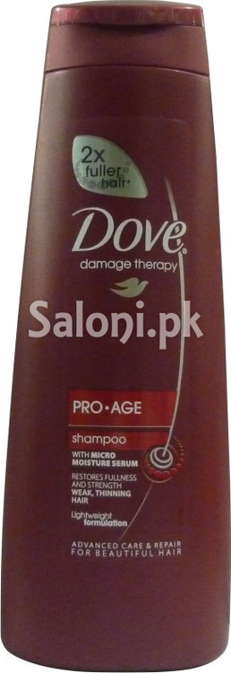 Dove Damage Therapy Pro Age Shampoo (Front)