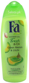 Fa Shower Gel Fresh & Oil Green Melon & Litchi Front