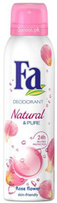 Fa Natural & Pure Rose Flower Deodorant