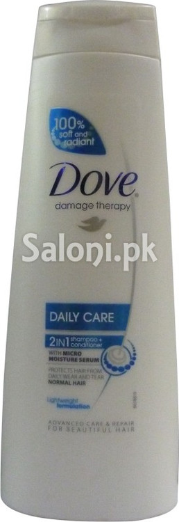 Dove Damage Therapy Daily Care 2 in 1 Shampoo (Front)