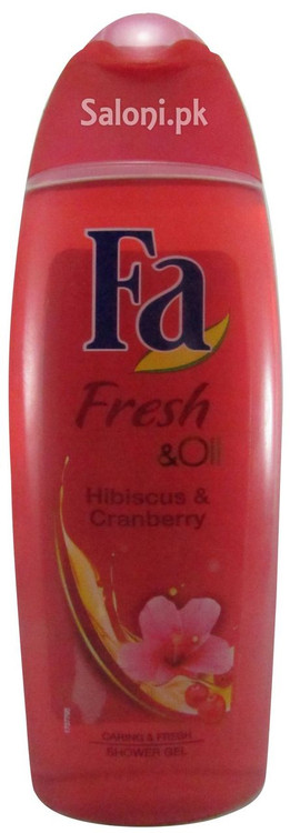 Fa Fresh & Oil Hibiscus & Cranberry Shower Gel Front