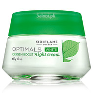 Oriflame Optimal White Oxygen Boost Night Cream Oily Skin