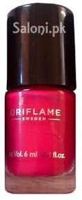 Oriflame Pure Colour Nail Polish Mini Hot Fuchsia
