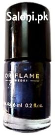 Oriflame Pure Colour Nail Polish Mini Midnight Blue
