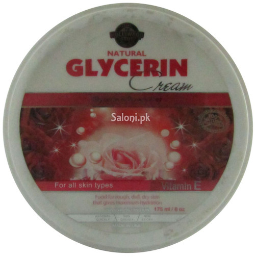 Hollywood Style Natural Glycerin Cream Front