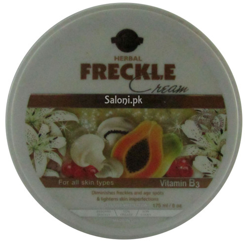 Hollywood Style Herbal Freckle Cream Front