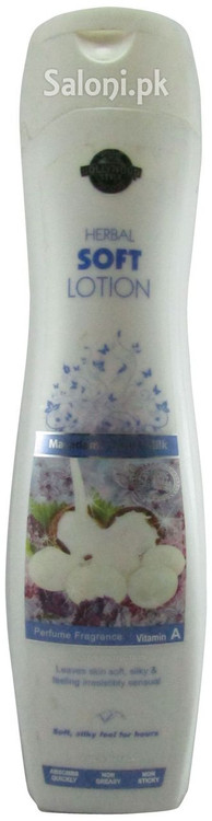 Hollywood Style Herbal Soft Lotion with Macadamia Nut & Milk Front