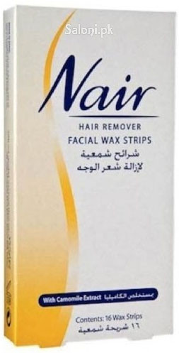 Nair Hair Remover Facial Wax Strips with Camomile Extract
