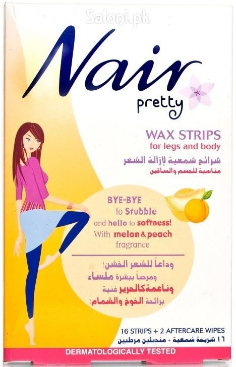 Nair Pretty Wax Strips For Legs and Body