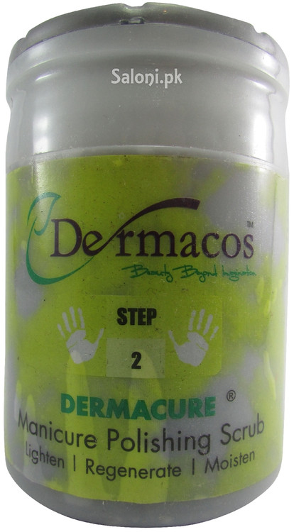 Dermacos Dermacure Manicure Polishing Scrub Front