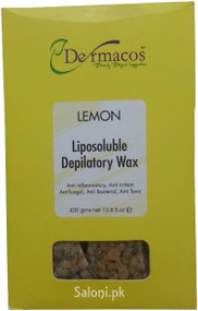 Dermacos Lemon Liposoluble Depilatory Wax Front