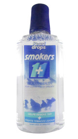 Pearl Drops Smokers 1+1 Minty Mouth Wash 400 ML (Front)