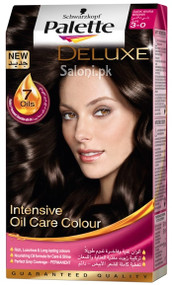 Schwarzkopf Palette Deluxe Intensive Oil Care Color Dark Warm Brown