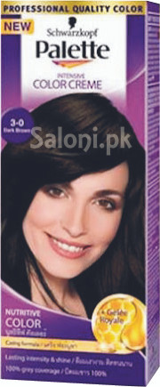 Schwarzkopf Palette Intensive Colour Cream Dark Brown 3-0